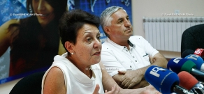 Press conference of the Deputy Director of National Education Institute Anahit Bakhshyan and  director of