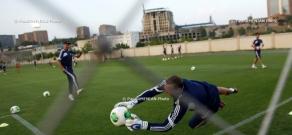 Armenian National Team open training
