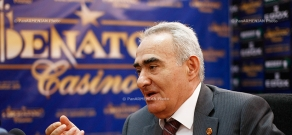 Press conference of Republican parliamentary faction leader Galust Sahakyan