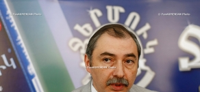 Press conference of Hayk Babukhanyan, chairman of Constitutional Right Union