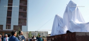 The opening ceremony of the new memorial dedicated to the rescuer