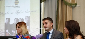 Press conference of Andrey Pyatakhin and Sona Azaryan