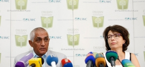 Press conference of the founders of Dilijan International School