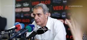 Press conference of Davit Shahnazaryan