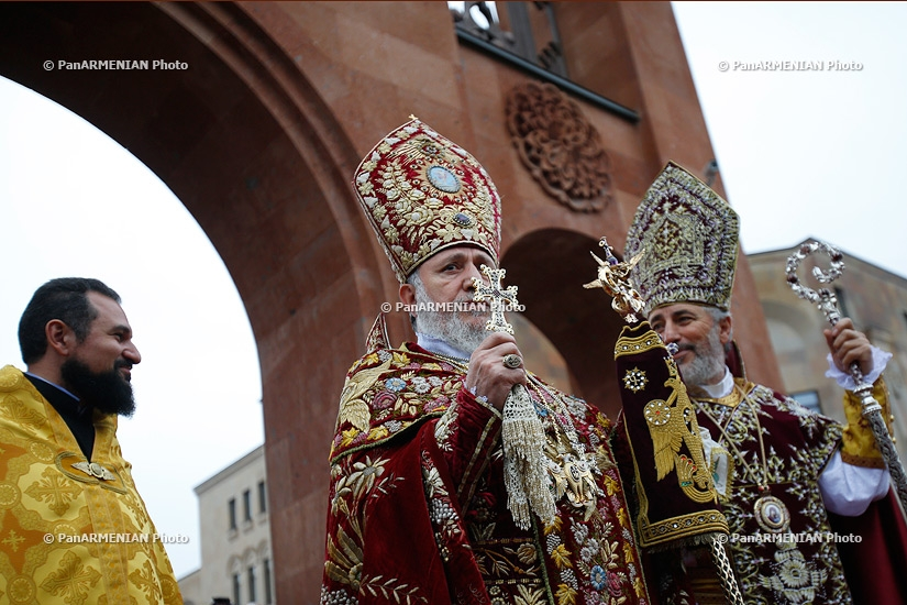 Consecration of Holy Transfiguration Armenian Church