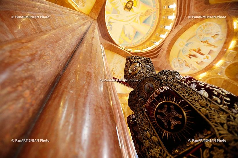 Consecration of Holy Transfiguration Armenian Church