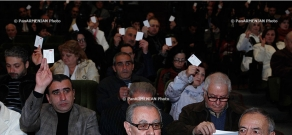 15th congress of Armenian Theatrical Figures' Union