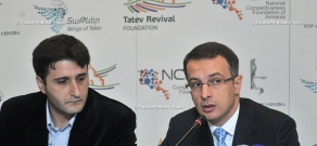 """Press conference Tatev Revival Project and the third anniversary of the launch of """"Wings of Tatev"""" aerial tramway"""