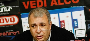 Press conference of Hakob Ghazanchyan,  Chairman of Armenia's Union of Theater Workers