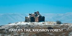 Armenian landscapes: Havuts Tar,  Khosrov Forest
