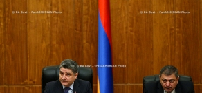 RA Govt. Committee meeting on organization of funeral of architect Jim Torosyan