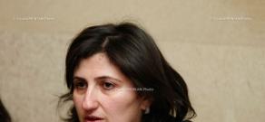 Press conference of Inessa Petrosyan, defense lawyer of Shant Harutyunyan