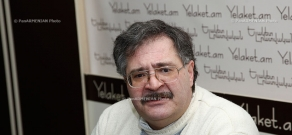 Press conference of political scientist Sergey Shakaryants
