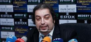 Press conference of Grigori Ayvazyan, head of the Assembly of Azerbaijani-Armenians
