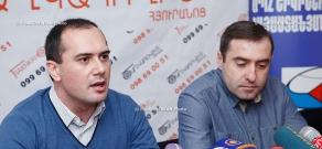 Press conference of Arab studies experts Sargis Grigoryan and Armen Petrosyan