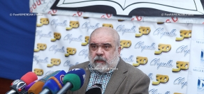 Press conference of the head of the Caucasus Institute Alexander Iskandaryan