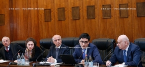 RA Govt.: Discussion of activities for Armenia's accession to Customs Union