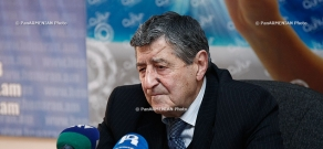 Press conference of former NA deputy, member of the Public Council Arshak Sadoyan