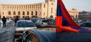 I Am Against Initiative organizies car-march in Republic Square