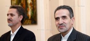 RA Govt.: Prime minister Tigran Sargsyan receives Iranian ambassador to Armenia Mohammad Reisi