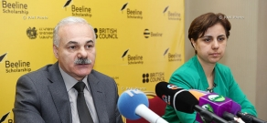 Meruzhan Mikaelyan and Arevik Saribekyan finalized the results of Beeline Scholarship program
