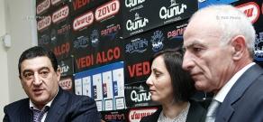 Press conference of Vardan Ayvazyan (RPA) and Lyova Khachatryan (PAP)