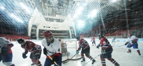 First Pan-Armenian Winter Games: Hockey, Yerevan vs Montreal