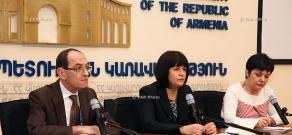 Press conference of Karine Minasyan and Shavarsh Kocharyan