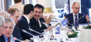 RA Govt.: Prime Minister Tigran Sargsyan attends European People's Party (EPP) political summit in Brussels
