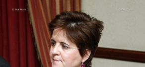 Press conference of Teresa Daban Sanchez, IMF Resident Representative in Armenia
