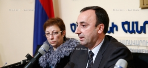 RA Govt.: Press conference of Armenian Justice Minister Hrayr Tovmasyan