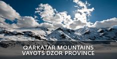 Armenian landscapes: Qarkatar Mountains, Vayots Dzor Province