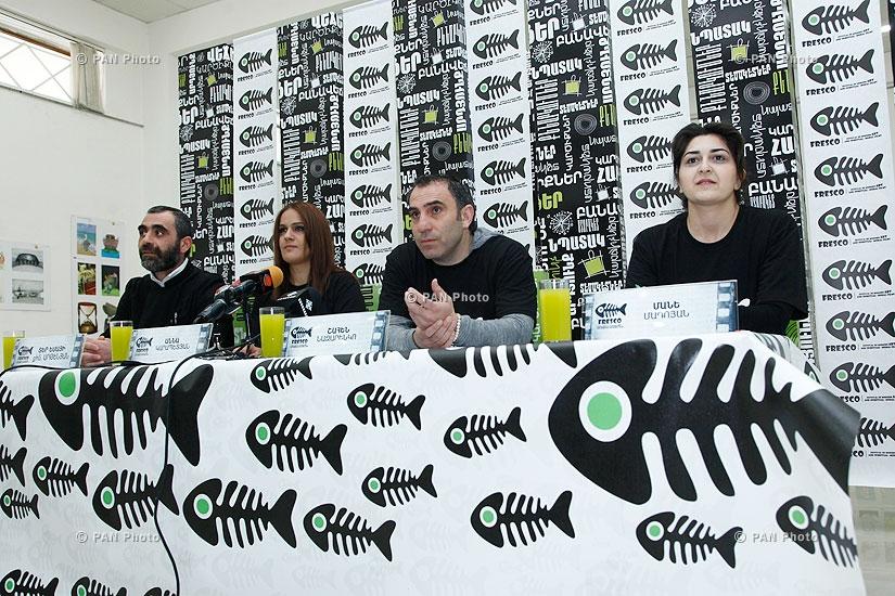 Пресс-конференция о международном фестивале современного искусства и духовно-нравственных фильмов «Фреска»