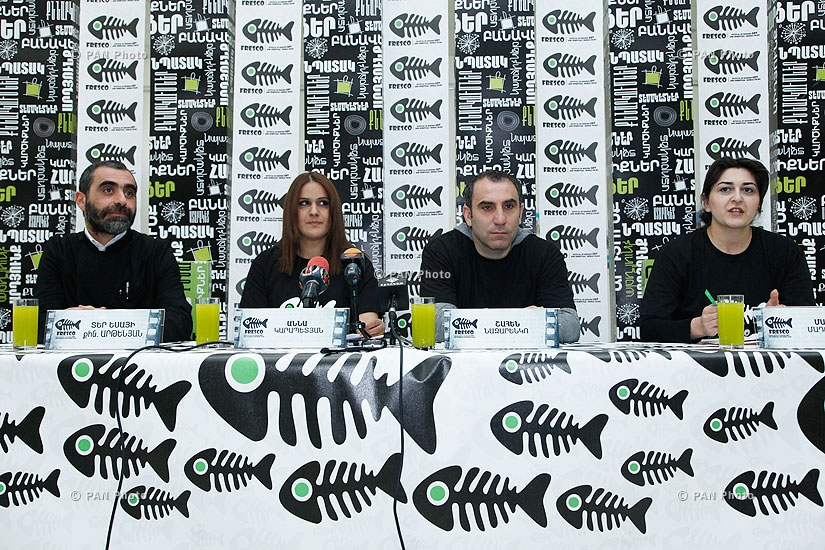 """Press conference on Festival of Modern Art and Spiritual and Moral Films """"FRESCO"""""""