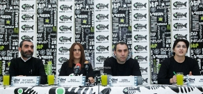 "Press conference on Festival of Modern Art and Spiritual and Moral Films ""FRESCO"""