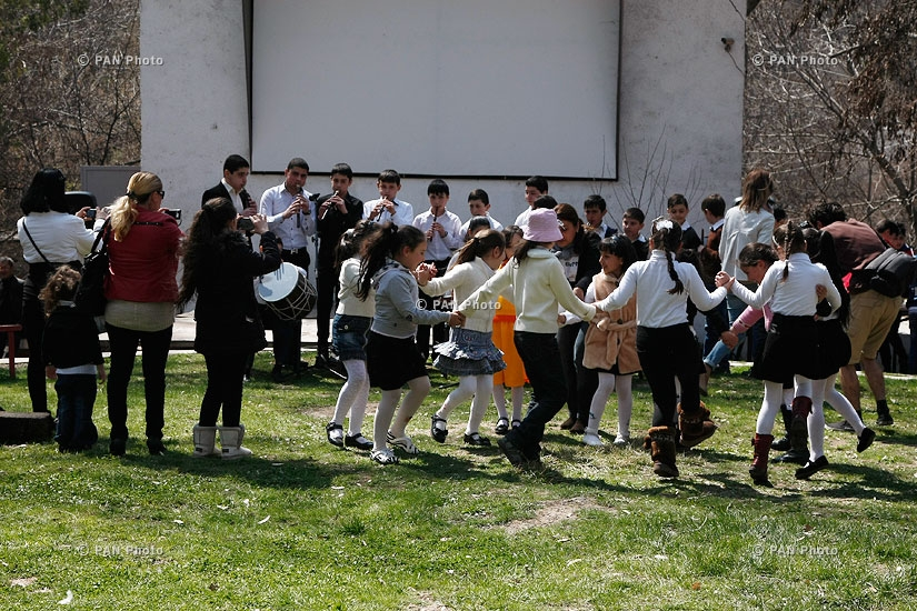 Birds day in Yerevan zoo and tree planting with VivaCell and FPWC