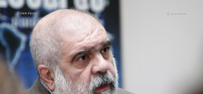 Press conference of political scientist Alexander Iskandaryan