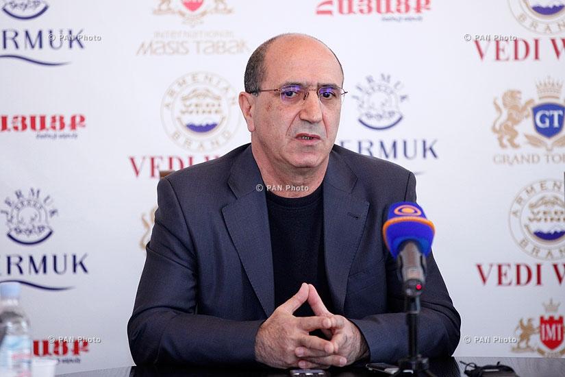 «Ազգային անվտանգություն» կուսակցության նախագահ Գառնիկ Իսագուլյանի մամուլի ասուլիսը