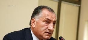 Press conference of Deputy Mayor of Yerevan Kamo Areyan