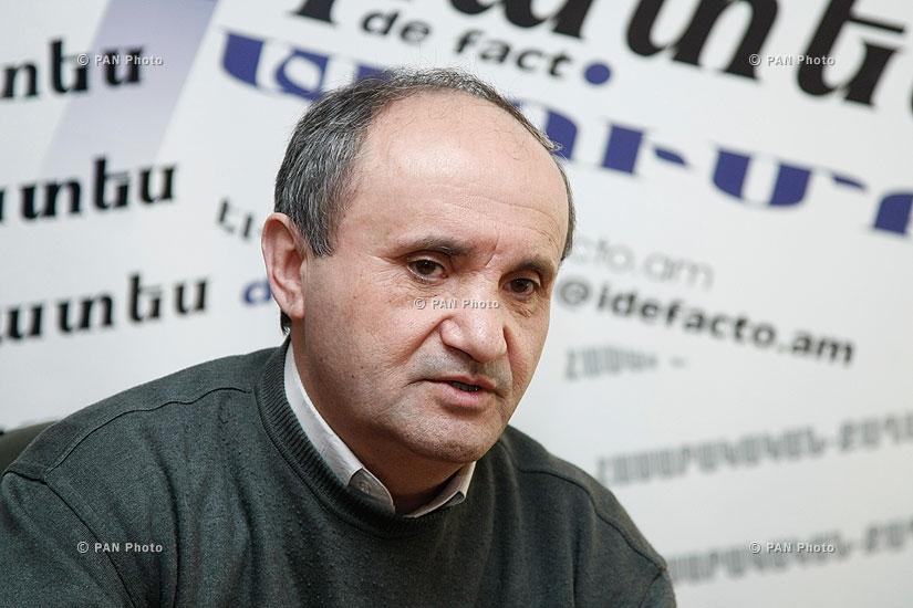 Пресс-конференция Ашота Манучаряна