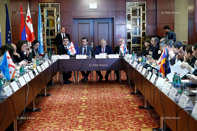 Launching of the project entitled Provision of Equipment and Infrastructure for the Bagratashen - Sadakhlo Border Crossing Point between Armenia and Georgia and enhancement of their capacities