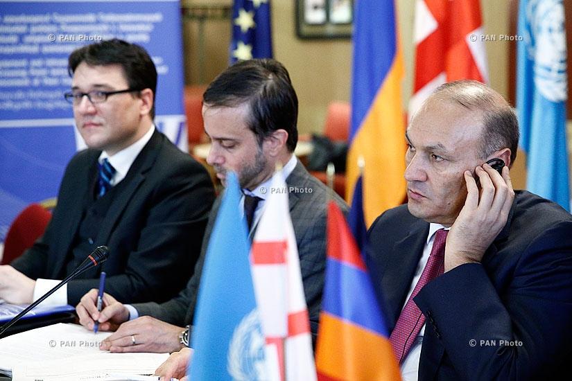 «Սարքավորումների տրամադրում Հայաստանի և Վրաստանի սահմանին գտնվող «Բագրատաշեն» և «Սադախլո» պետական սահմանի  անցման կետերին և դրանց կարողությունների զարգացում» ծրագրի մեկնարկային համաժողովը