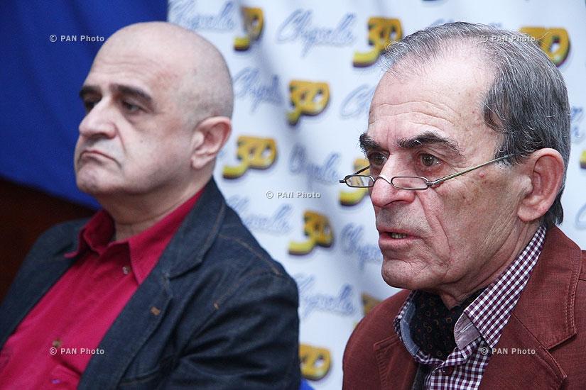 Press conference of Levon Igityan and Ruben Babayan