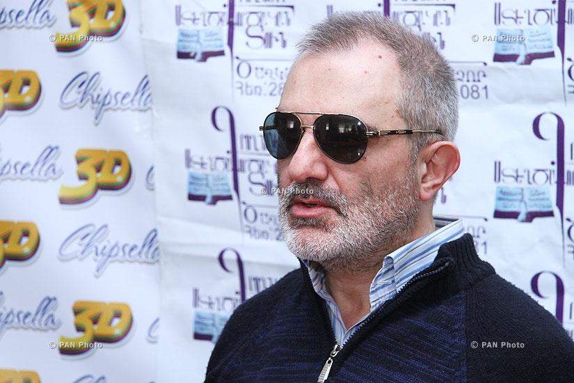 Press conference of Alek Yenigomshyan and Gagik Ginosyan