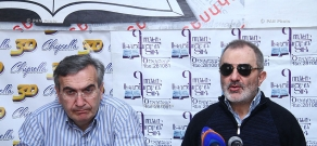 Ալեք Ենիգոմշյանի և Գագիկ Գինոսյանի մամուլի ասուլիսը