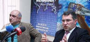 Արմեն Մարտիրոսյանի և Բորիս Նավասարդյանի մամուլի ասուլիսը