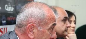 Press conference of Ashot Hovhannisyan and Sergey Stepanyan
