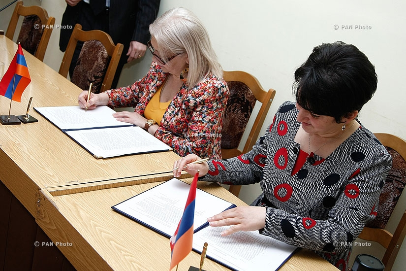 Artsakh State University and Yerevan State Linguistic University named after V. Brusov  signed a cooperation agreement