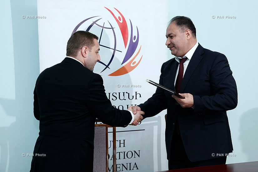 Youth Foundation of Armenia and Eurasian Partnership Development Foundation signed a cooperation agreement