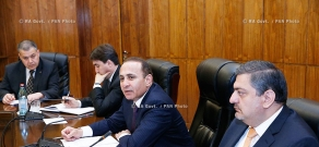 RA Govt.: Prime minsiter Hovik Abrahamyan receives representatives of information technology (IT) sector